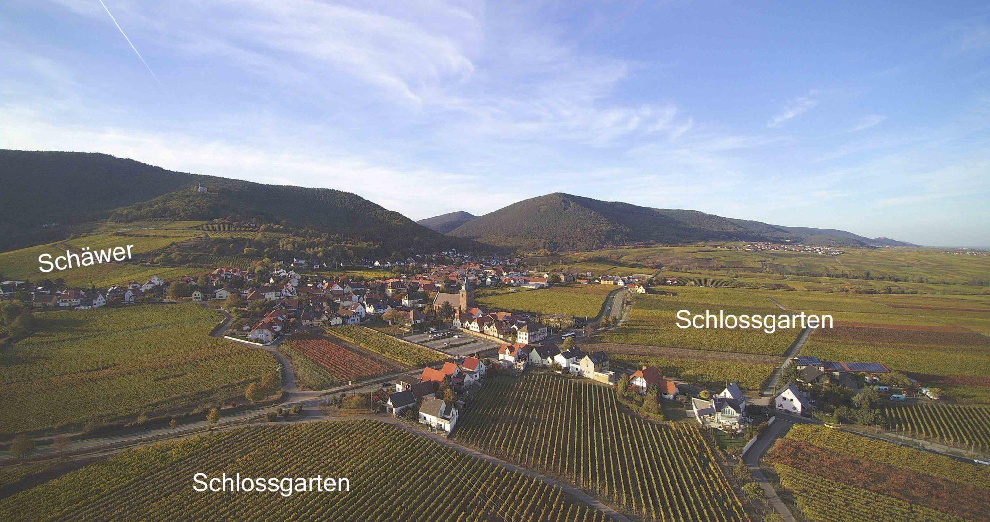 Schlossgarten und Schäwer